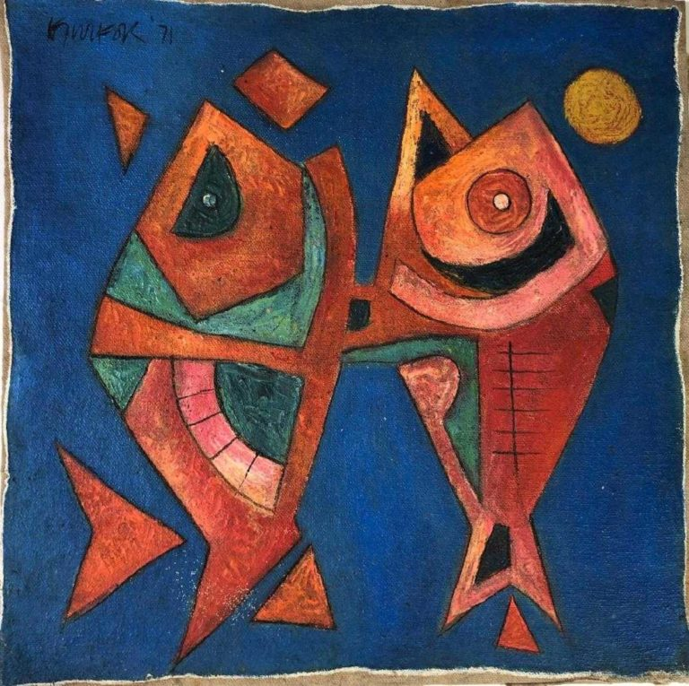 Read more about the article Ang Kiukok (1931 – 2005) Oil on Board
