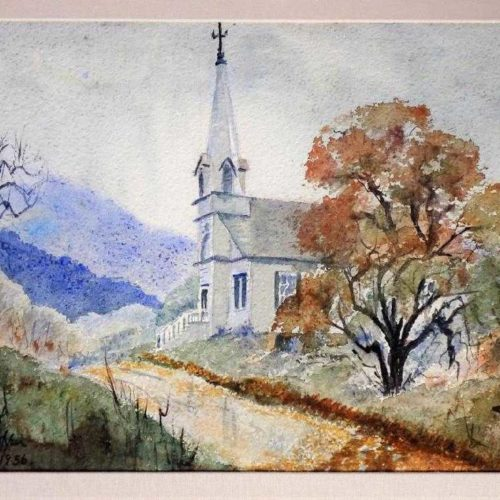Attributed to Edward Hopper (1882-1967) Watercolor