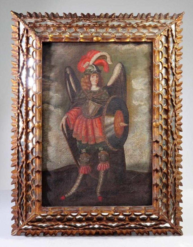After Francisco de Zurbaran (1598-1664),Archangel