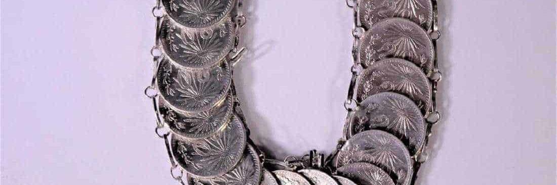 Mexican Coin Bracelet