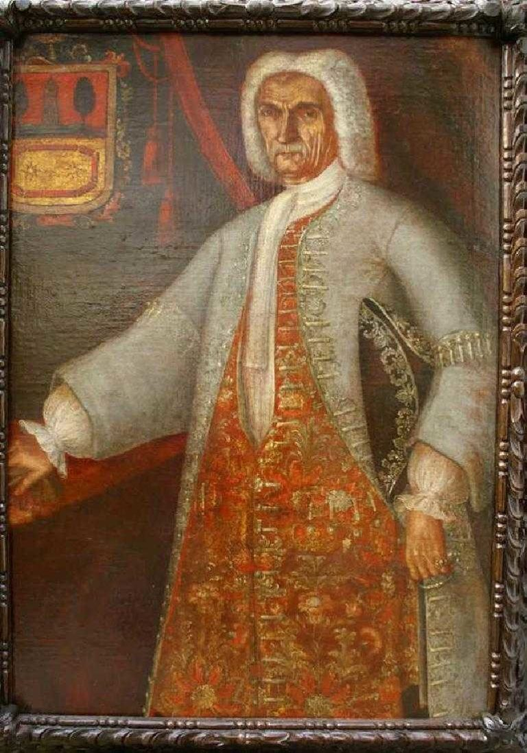 17th C Spanish Colonial Portrait of a Nobleman