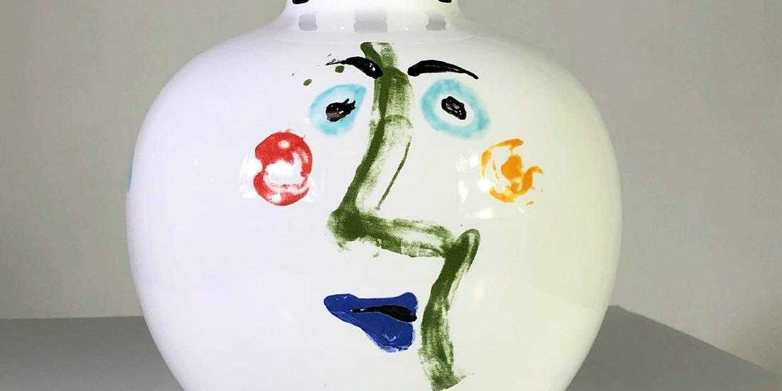 Picasso Living Face Vase