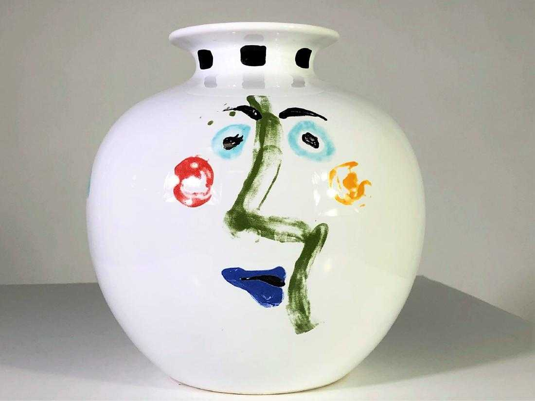 1963 Picasso Living Face Vase