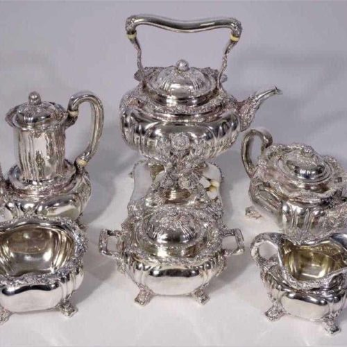 Tiffany & Co. Chrysanthemum Tea Set