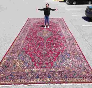 Antique Palace Sized Persian Rug