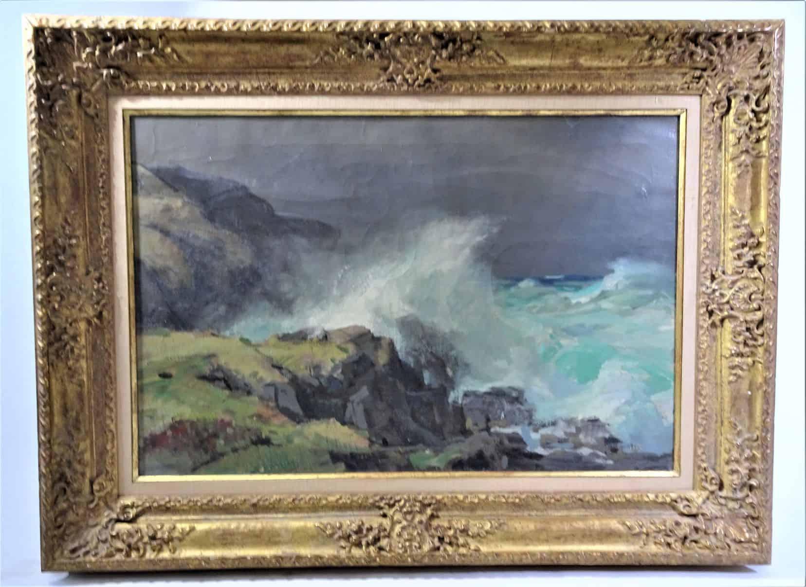 Jay Hall Connaway (1893 – 1970), Oil on Canvas