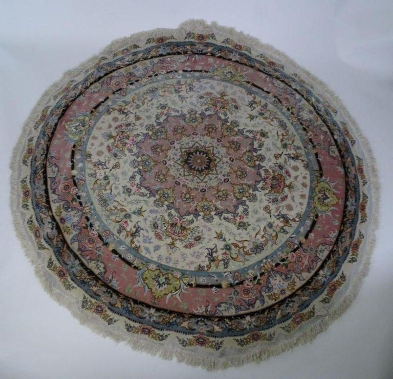 Persian Round Tabriz Rug