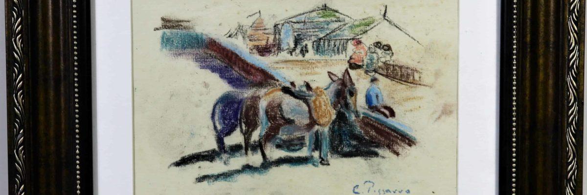 Camille Pissarro Pastel