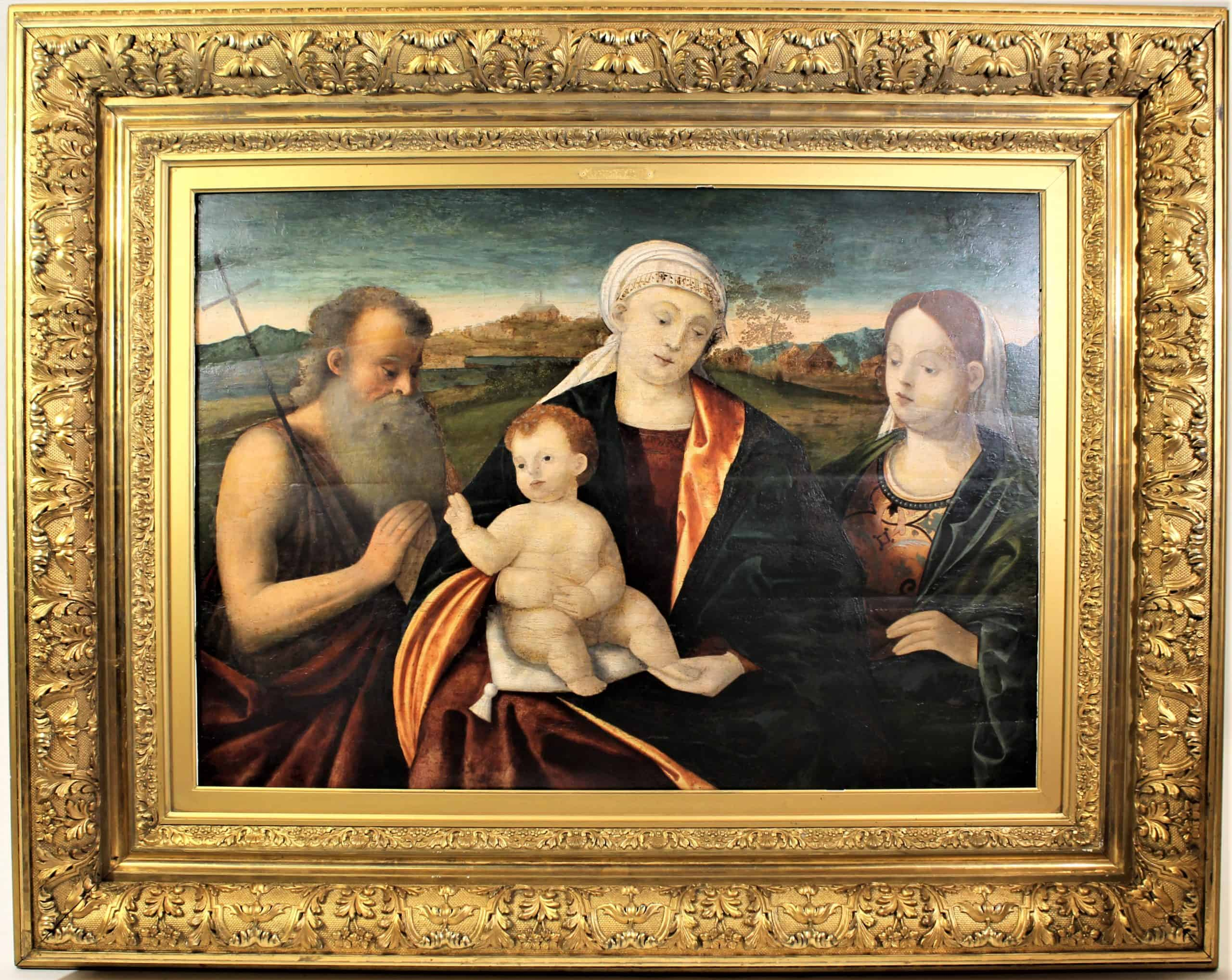 16th C. Venetian School. Manner of Jacopo Tintoretto