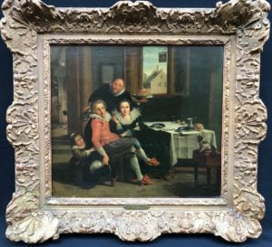David Vinckboons (1576-1632) Dutch, Oil on Panel