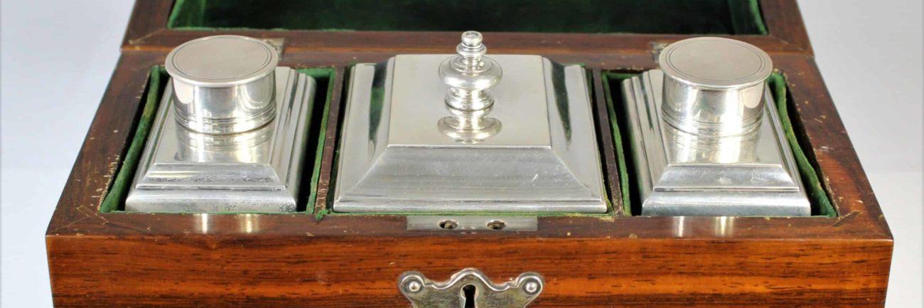 Tiffany Sterling Silver Tea Caddy Set, 45 OZT
