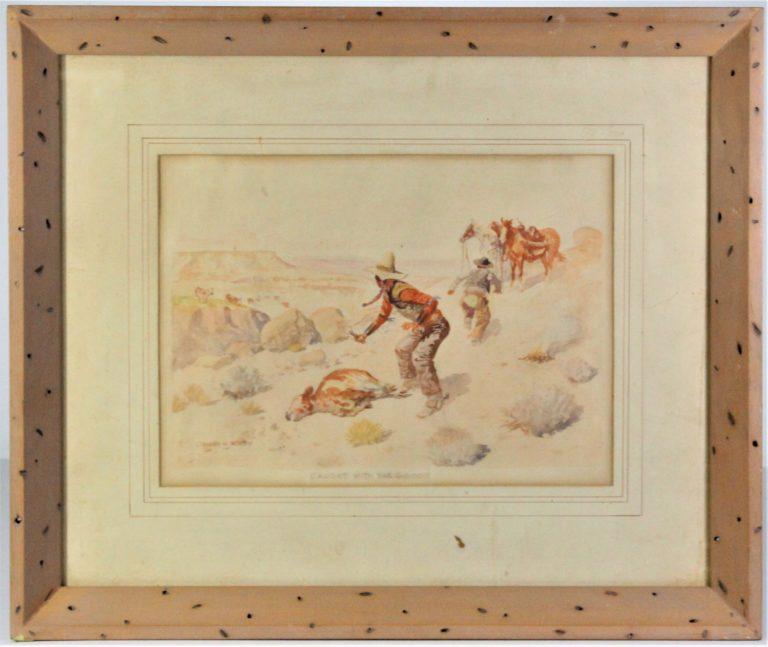 Leonard Reedy (1899 -1956) American, Watercolor