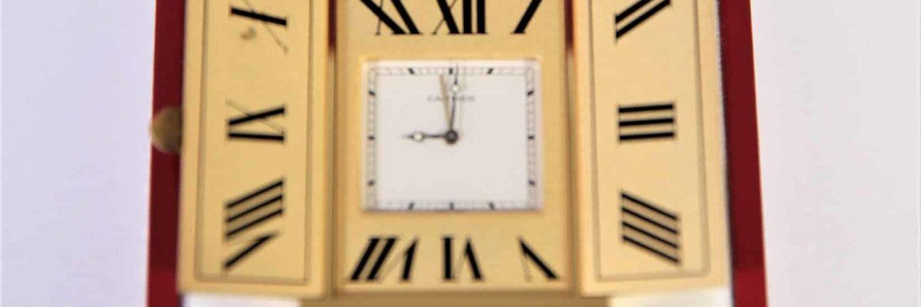 Cartier Quartz Concours Clock
