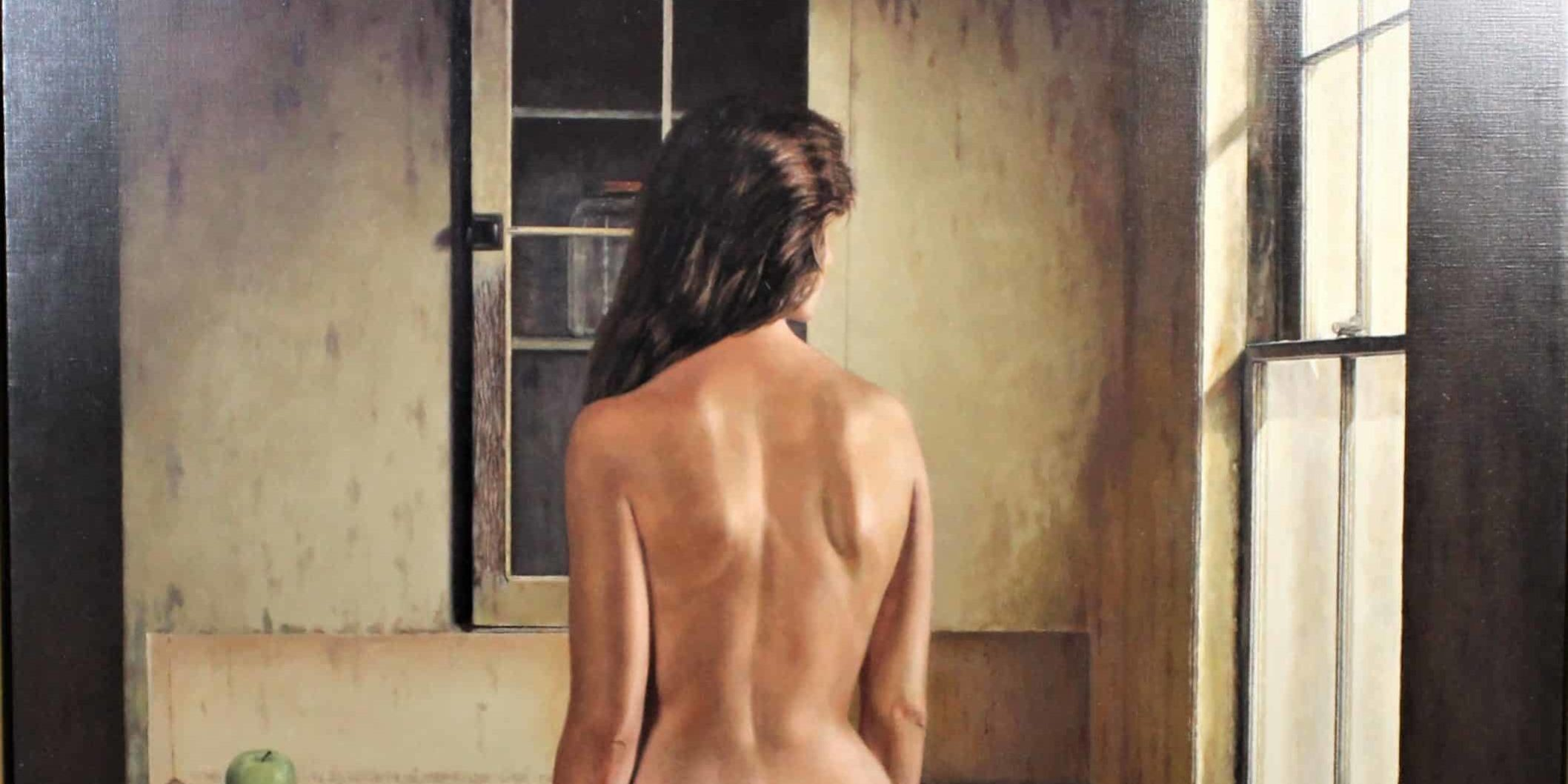 Nat Krate (1918-2013) American, Oil / Canvas Nude