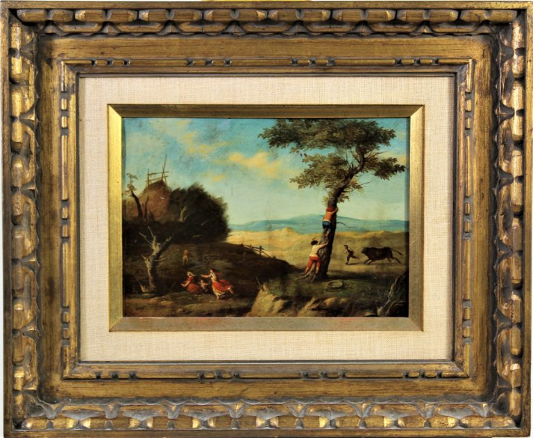 17th C. Flemish Oil on Copper