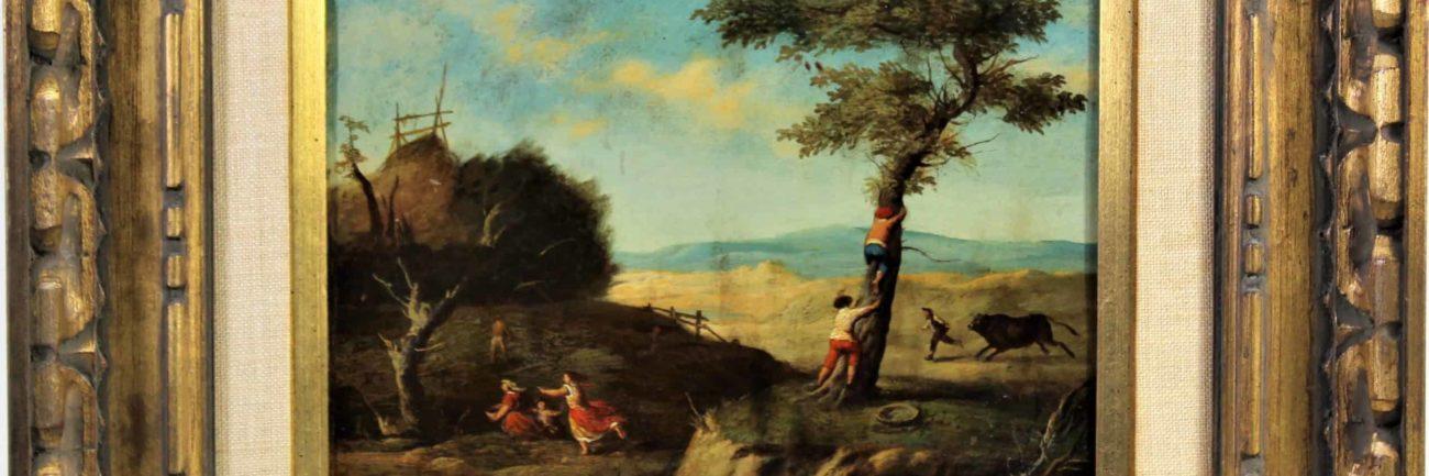 18th C. Flemish Oil on Copper