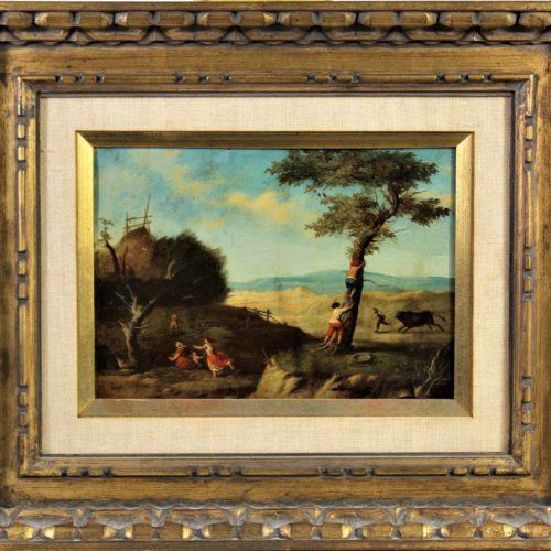 17th C. Flemish Oil on Copper