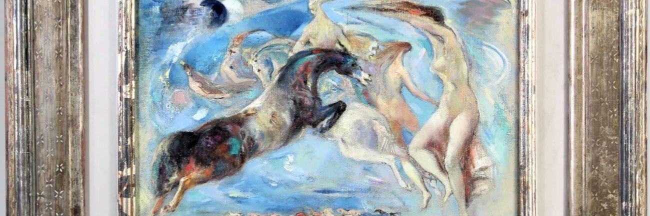 Jon Corbino (1905 -1964) Moonlight