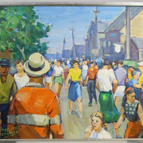 Sidney Riesenberg (1885-1971) American, O/C