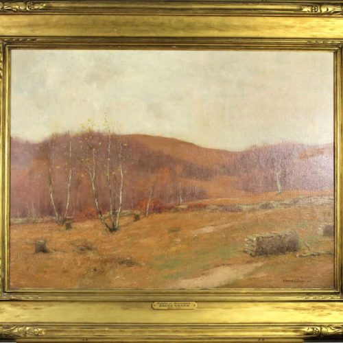 Bruce Crane (American 1857-1937) Month of November