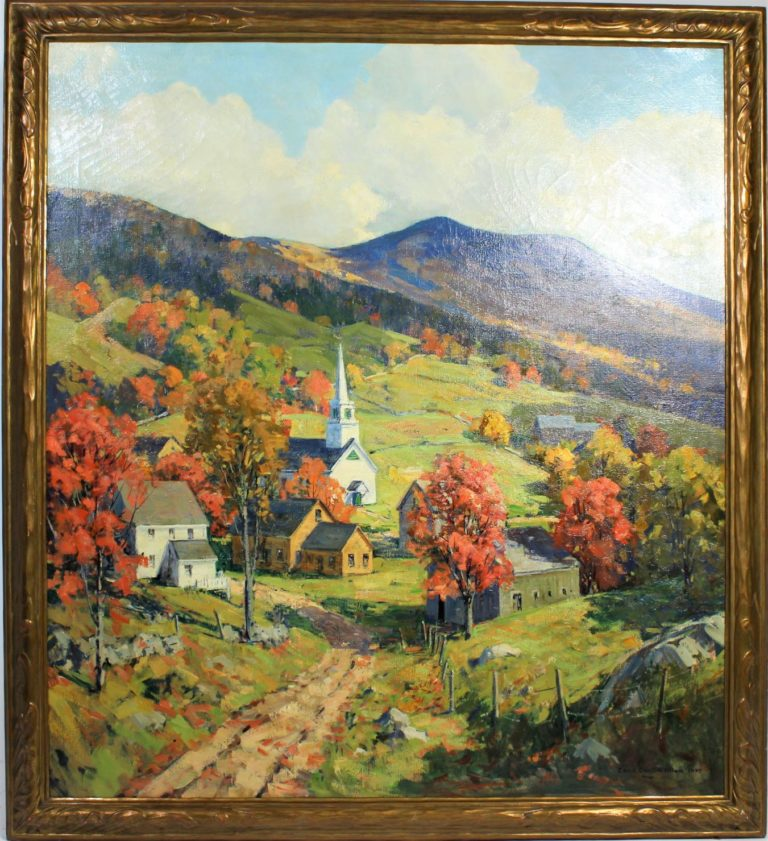 Charles Curtis Allen (1886 – 1950) O/C