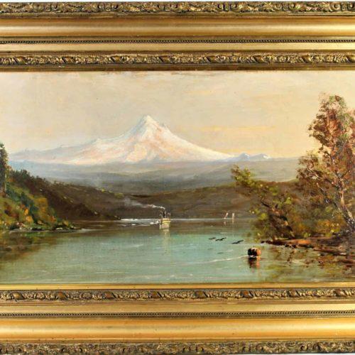 Edward Hill (1843 – 1923) American, O/C