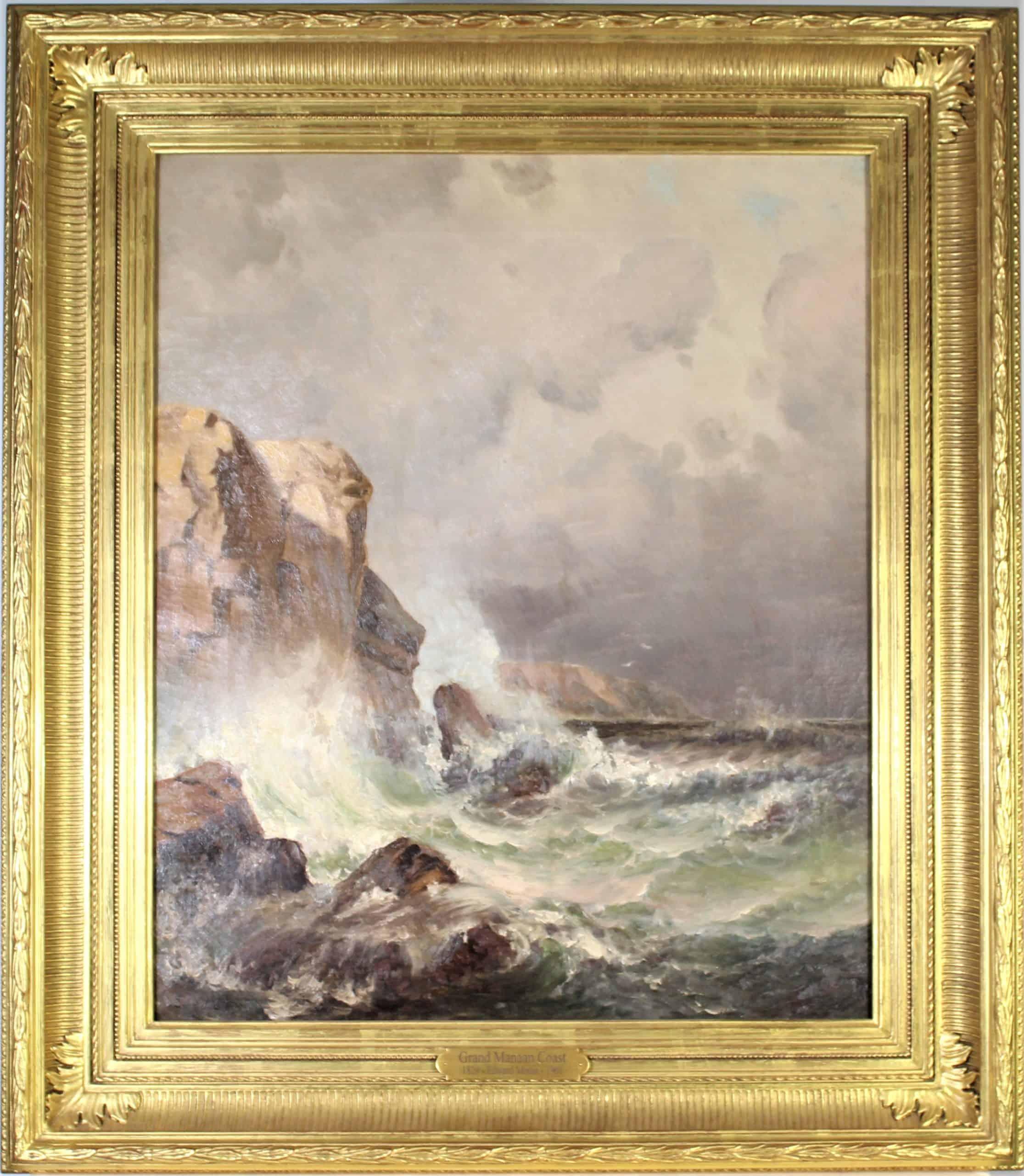 Edward Moran (American 1829-1901) O/C