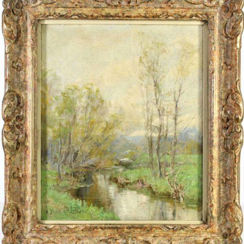 Olive Parker Black (1868-1948) American, O/C