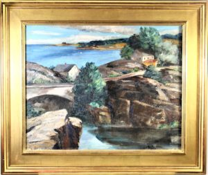 Ann-Brockman-1899-1943-Maine-Landscape-Oil-on-Canvas-scaled