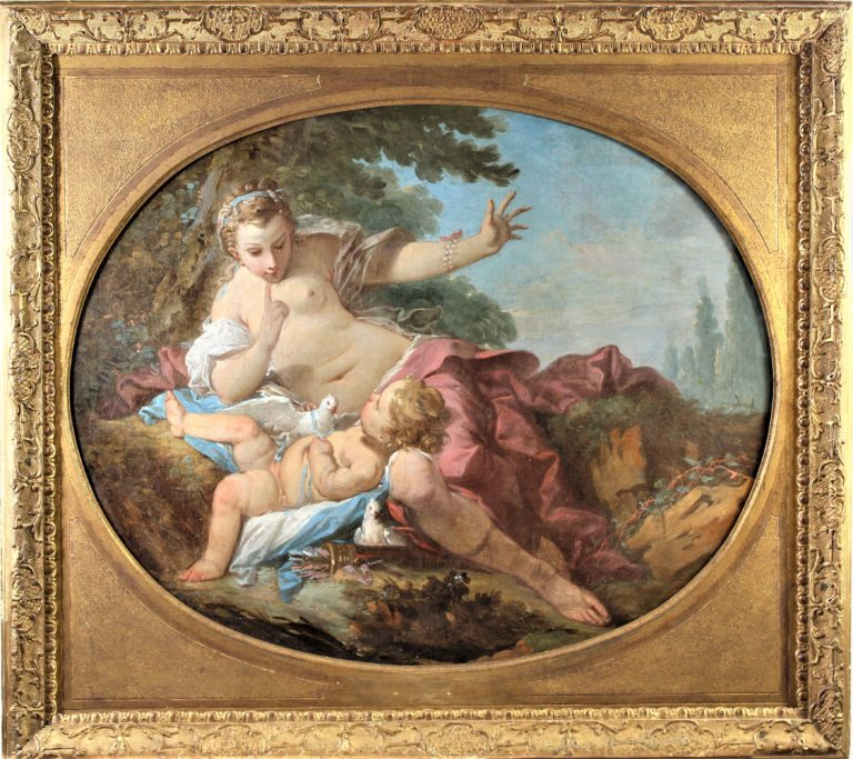 Attrib. Francois Boucher (1703-1770) French O/C