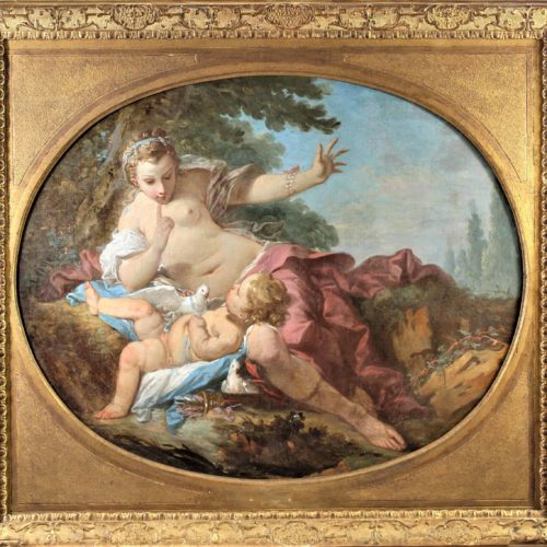 Attrib. Francois Boucher (1703-1770) French O/C
