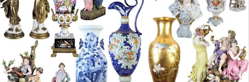 Collection-of-European-Porcelain-and-Glassware