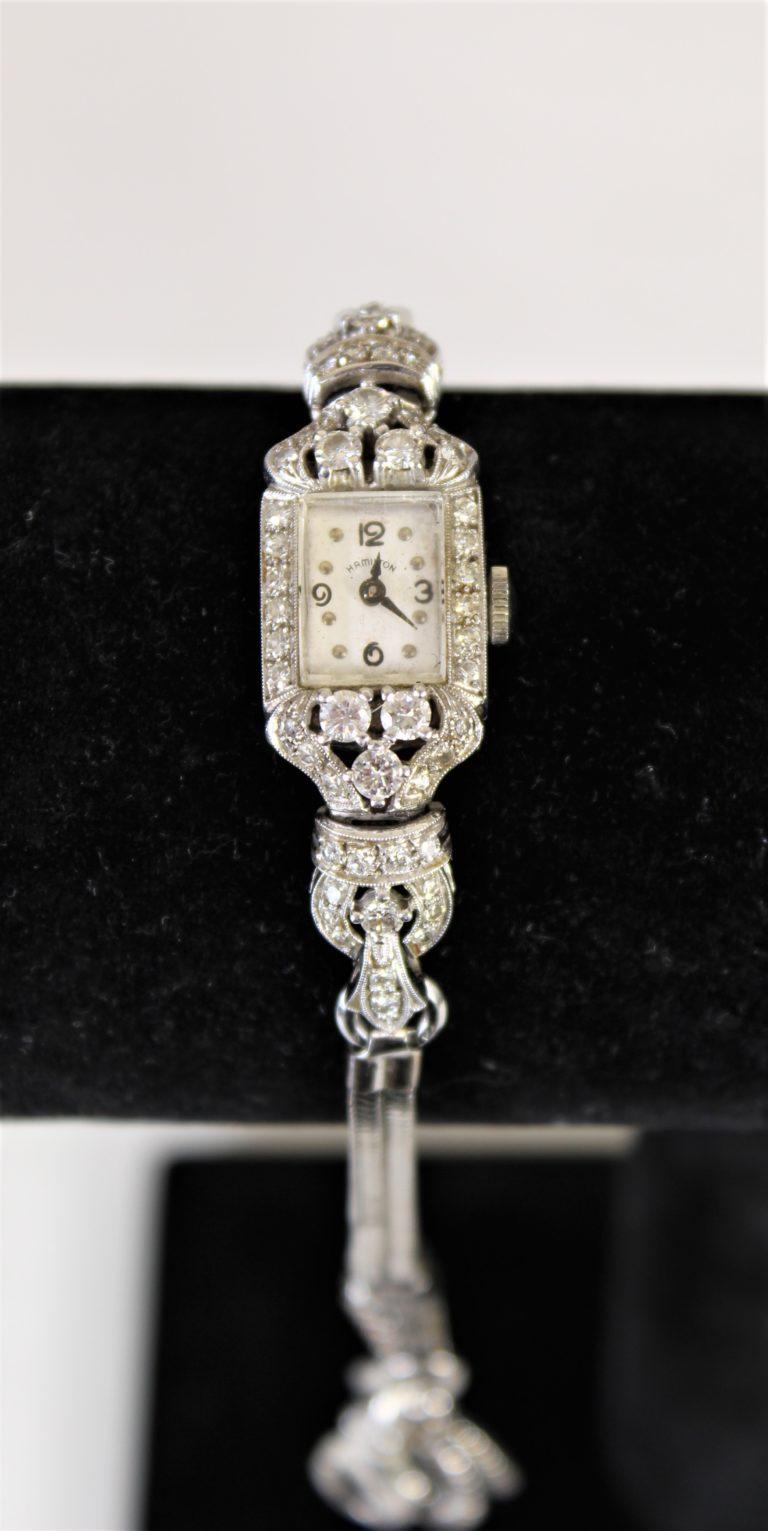 Hamilton Diamond Watch