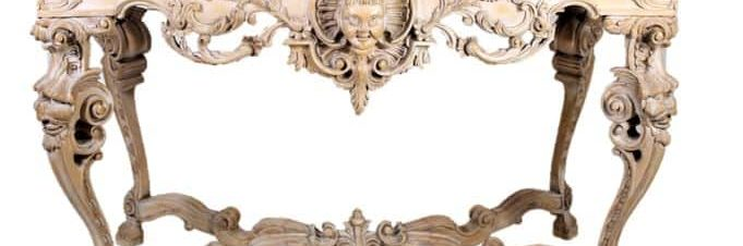 Marble-Tob-Intricately-Caved-Floral-Motif-Console-Table