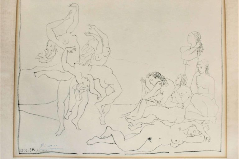 Picasso-Signed-Stone-Lithograph