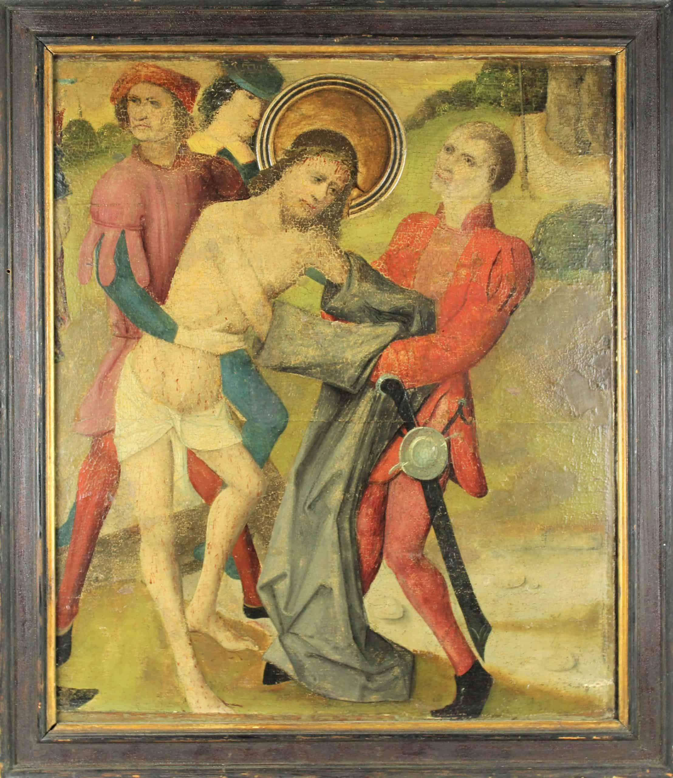 17th C. European Old Master Oil on Panel