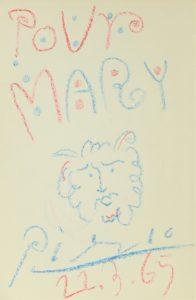 Attrib. Pablo Picasso (1881-1973) Crayon on Paper