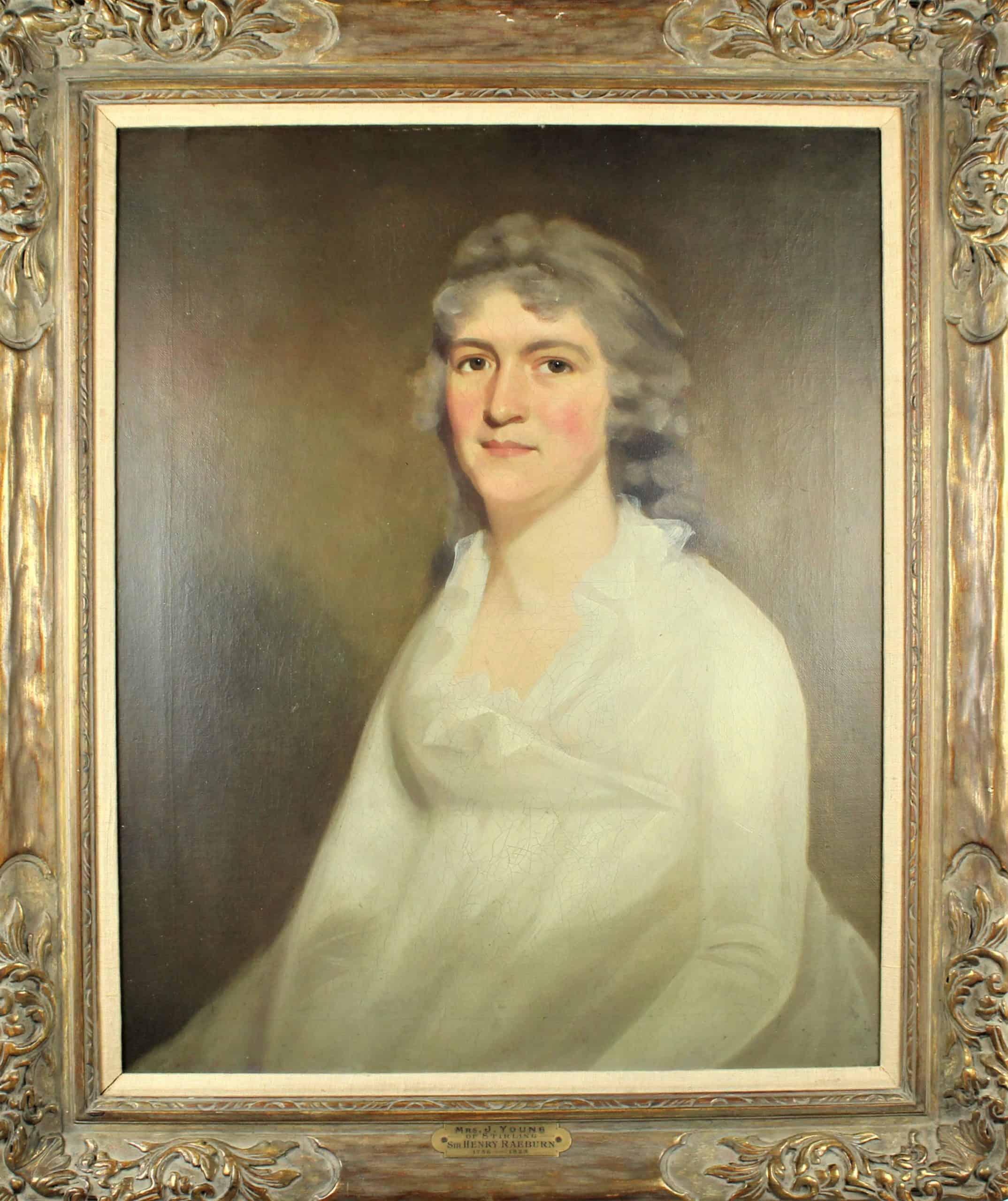 Sir Henry Raeburn (1756-1823) Scottish, O/C