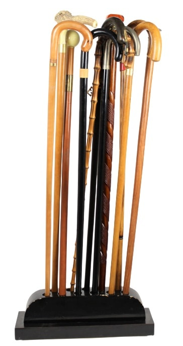 Collection of Gucci Canes from the Estate of Francesco Gittardi
