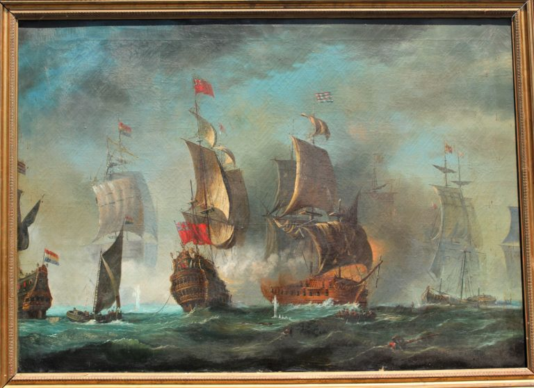 Large Euopean Battle Scene