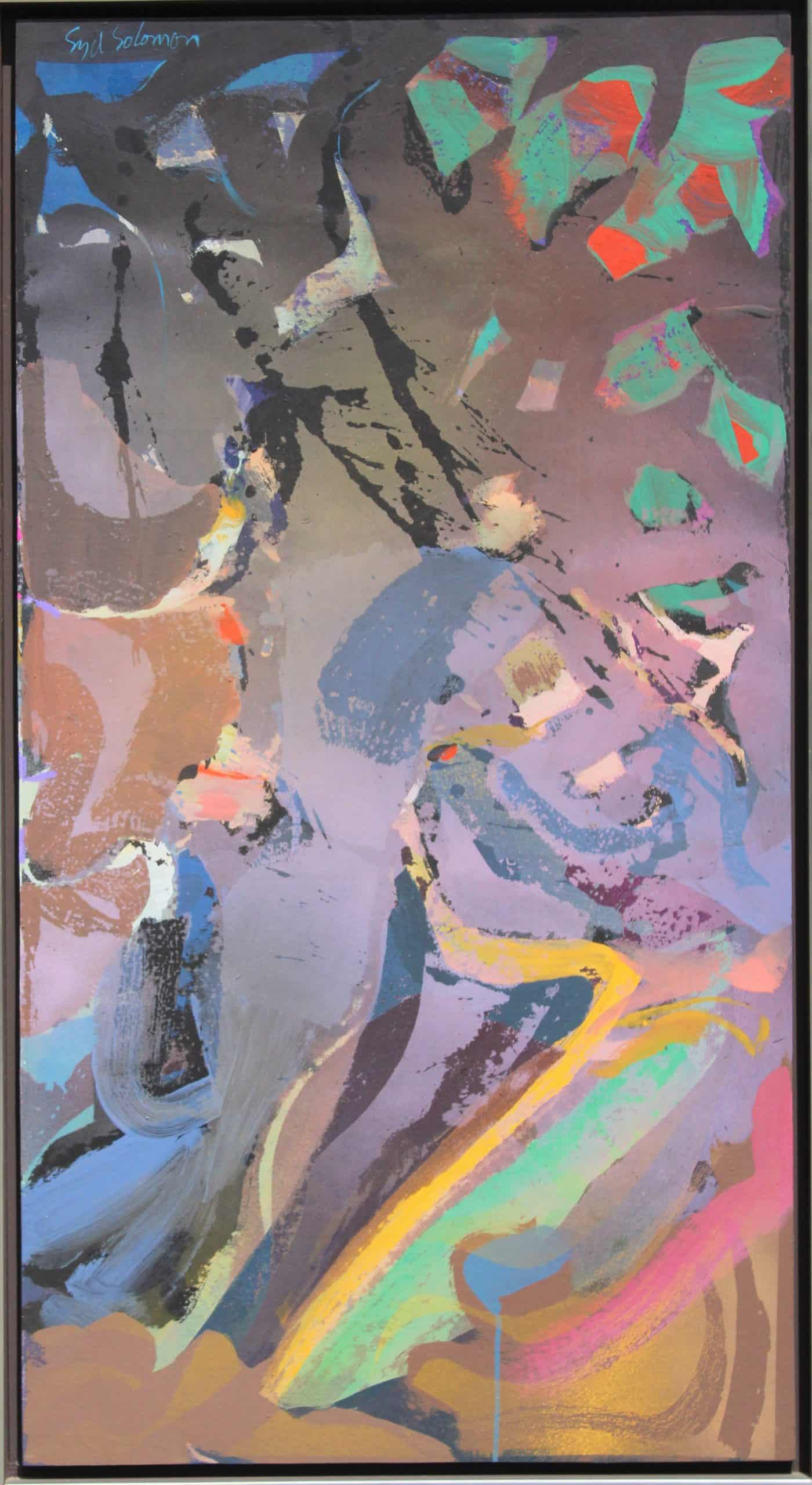 Syd Solomon (1917-2004) 'Lightride' Oil/Acrylic on Board