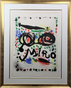 Joan Miro (1893-1983) Spanish, Lithograph