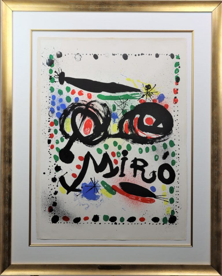 Read more about the article Joan Miro (1893-1983) Spanish, Lithograph