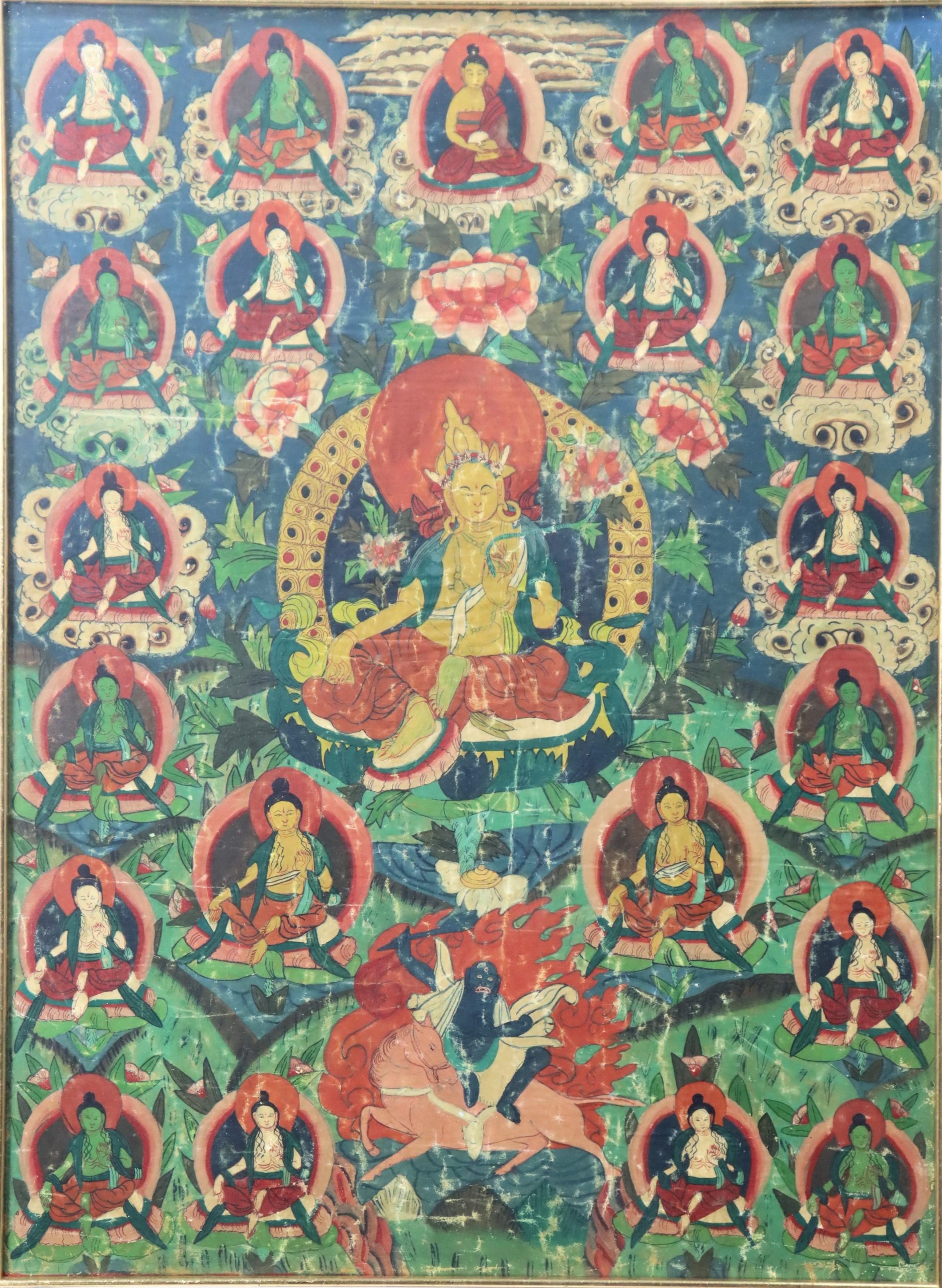 Bhutanese Thangka