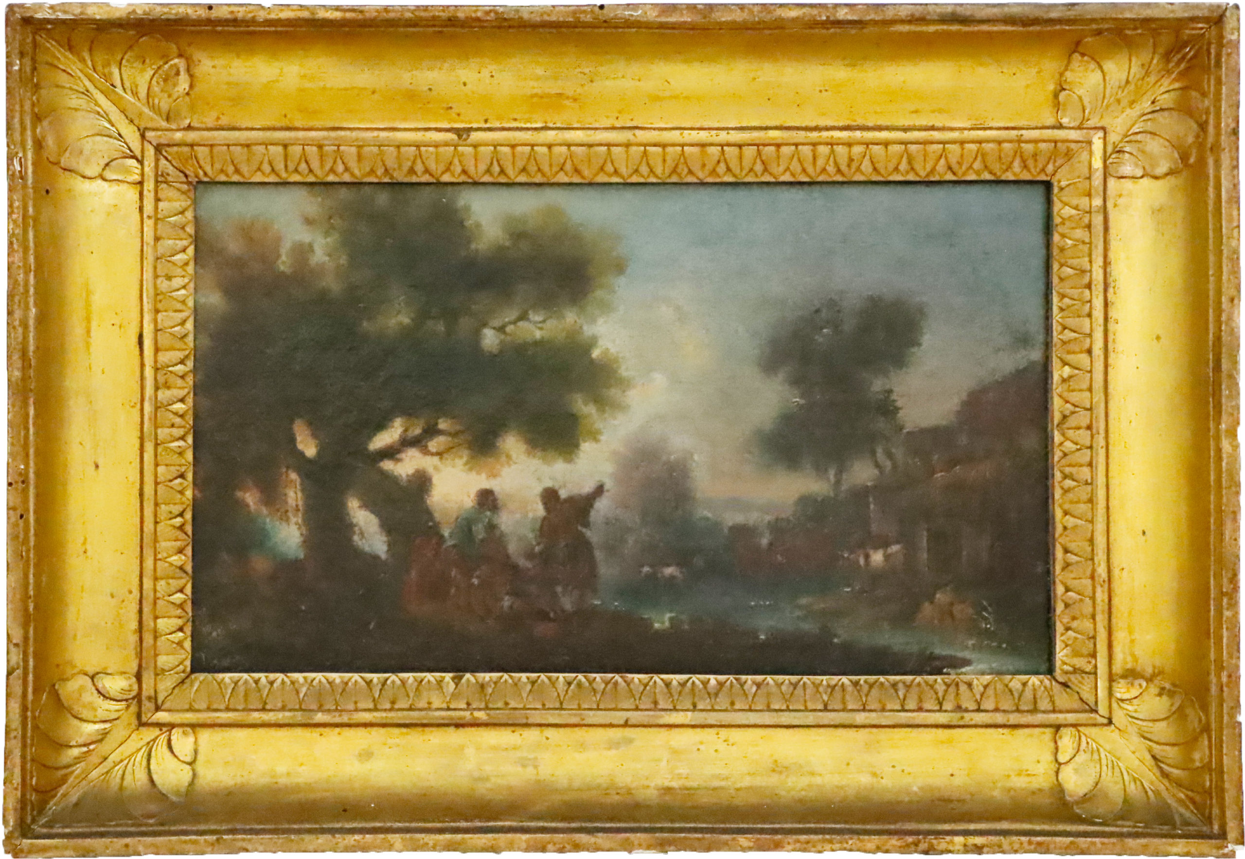 19th C. Old Master Oil on Canvas