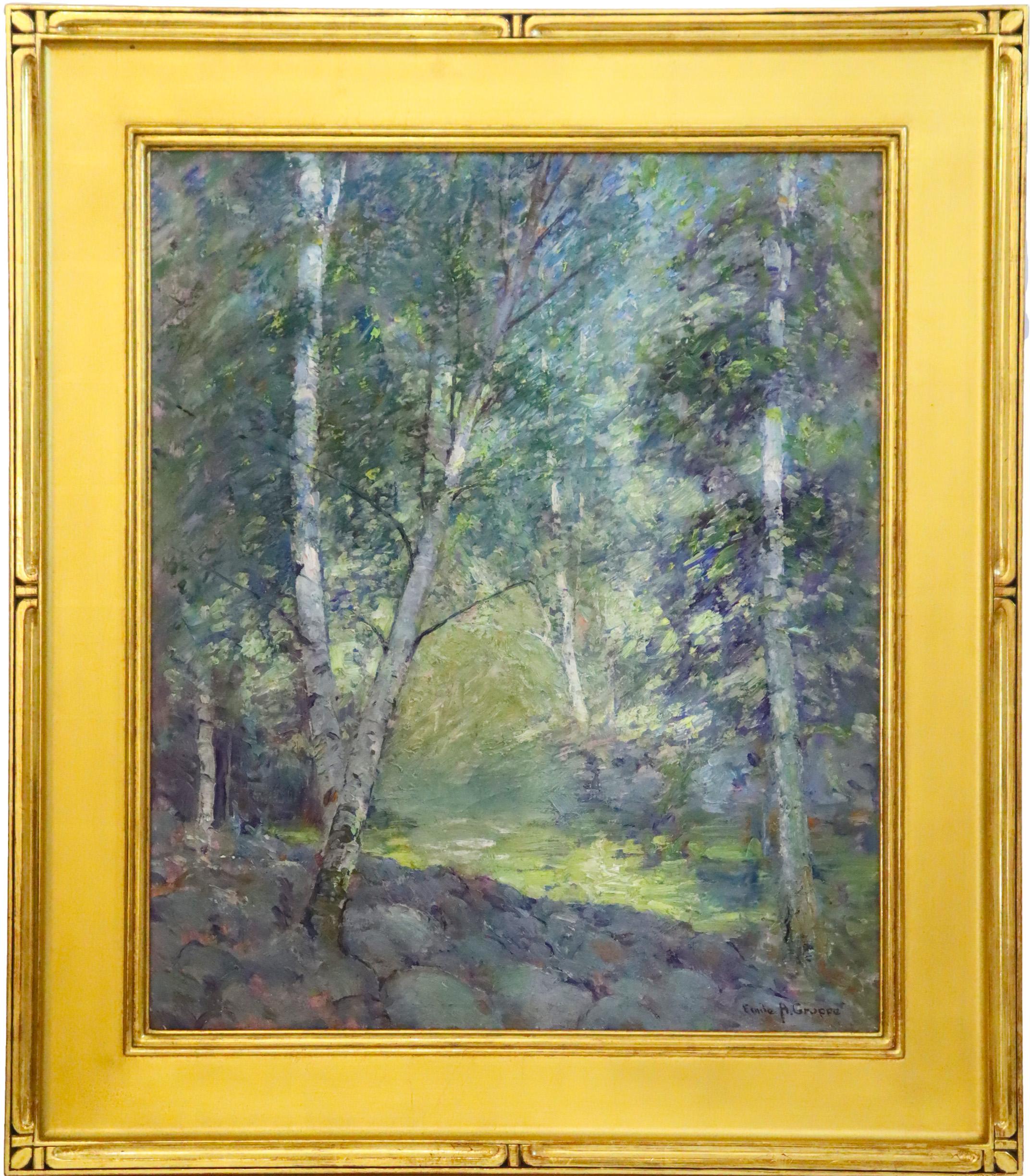 Emile Albert Gruppe (1896-1978) Oil on Canvas