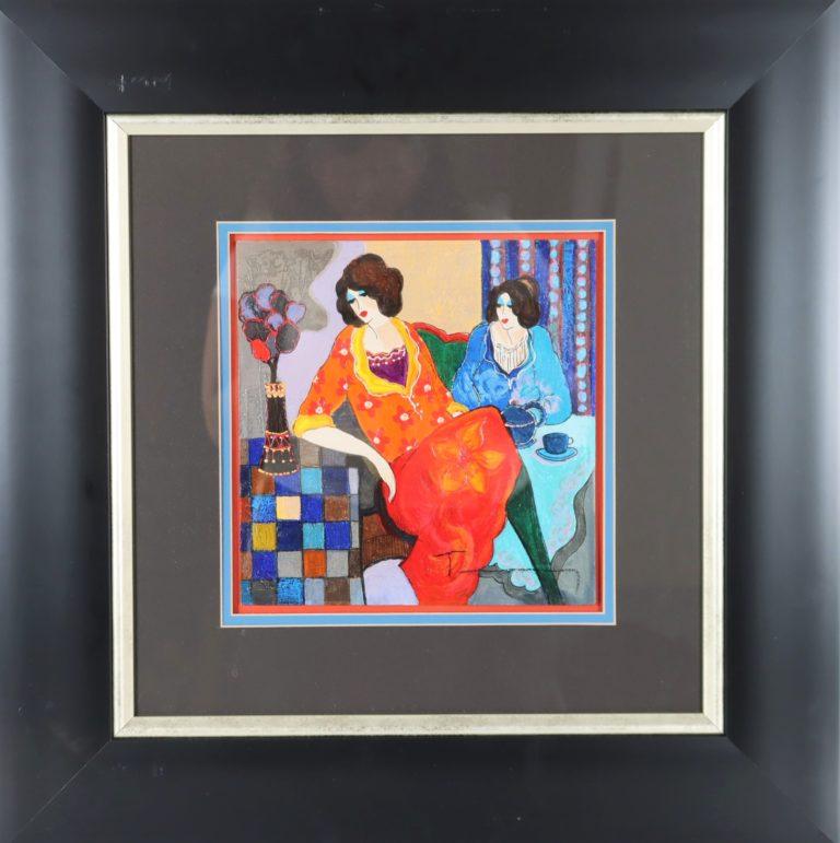 Itzchak Tarkay (1935-2012) Acrylic on Canvas