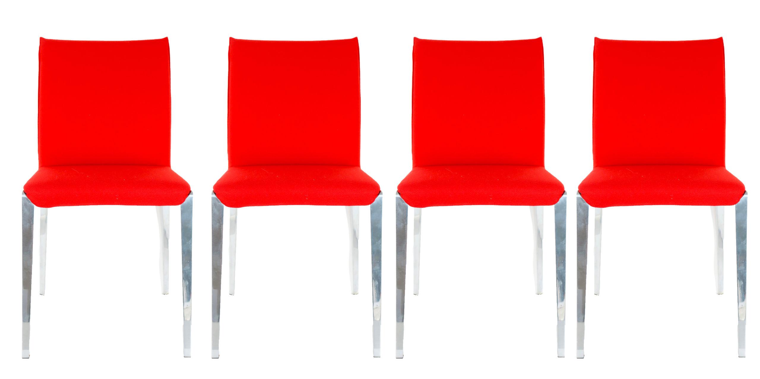 Set of (4) Italian Molteni&C Chairs