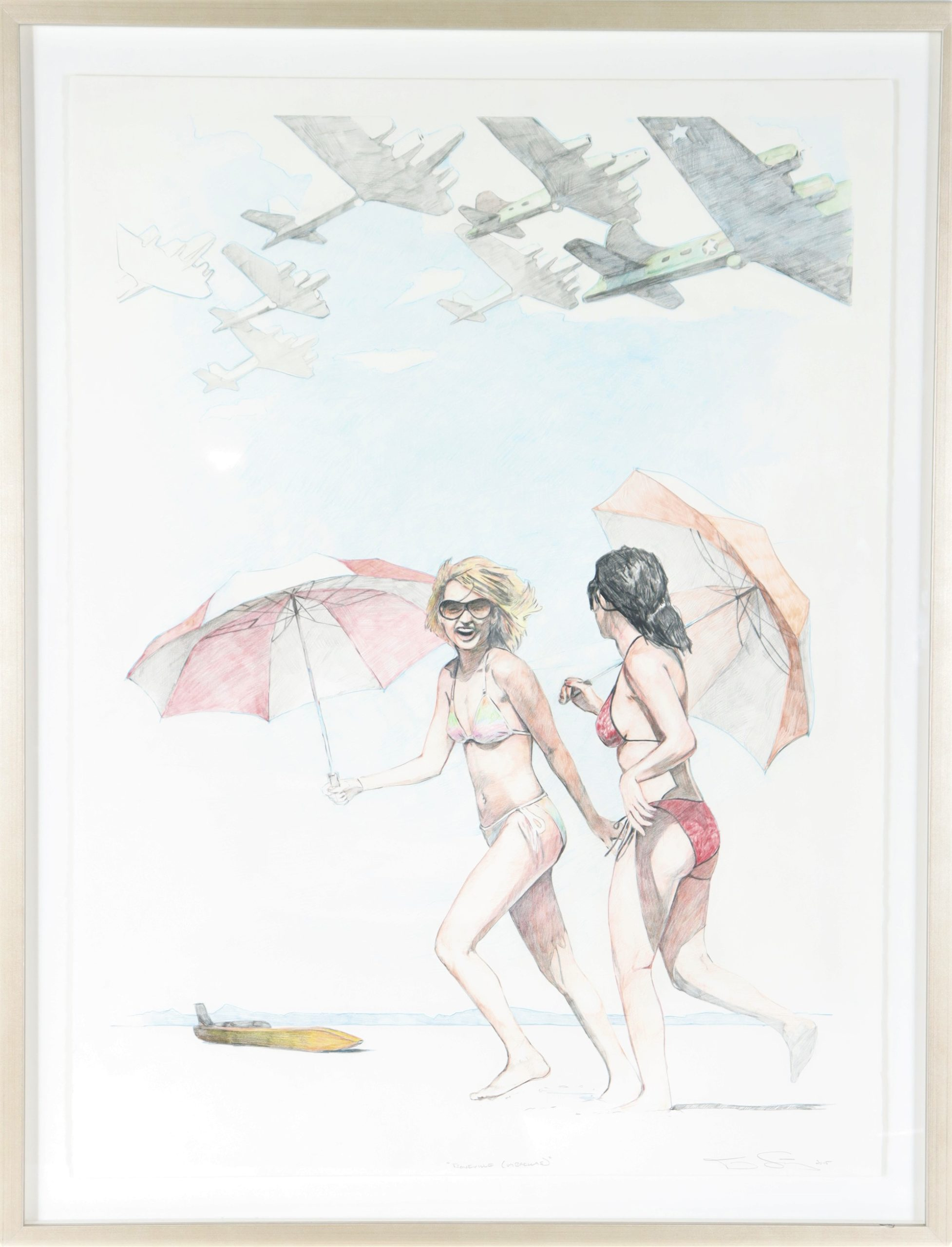 Tracy Stuckey (b 1977) Pencil on Paper