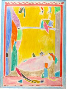 Alexander Paul Forunier (b 1939) Acrylic on Canvas